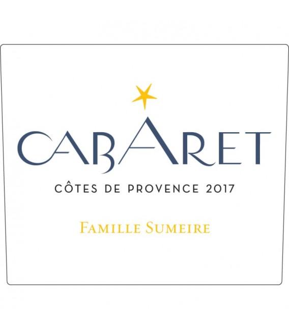 """Famille Sumeire """"Cabaret"""" Côtes de Provence Blanc 2017"""