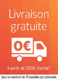 Livraison gratuite à partir de 200 euros